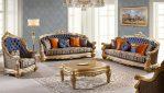 Set Kursi Sofa Tamu Ukiran Klasik Mewah Terbaru Brunello