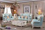 Sofa Ruang Tamu Mewah Kulit 321 Berkualitas