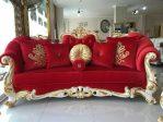 Desain Bangku Sofa Ruang Tamu Ukiran