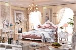 Set Tempat Tidur Modern Ukiran Klasik