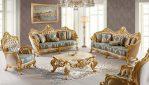 Set Sofa Ruang Tamu Ukiran Jepara Klasik Mewah Terbaru European Style