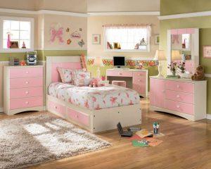 Kamar Set Anak Perempuan Minimalis Mewah