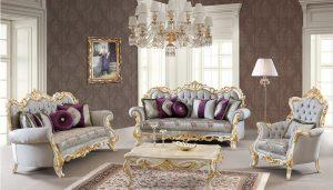 Set Kursi Sofa Tamu Mewah Modern Terbaru