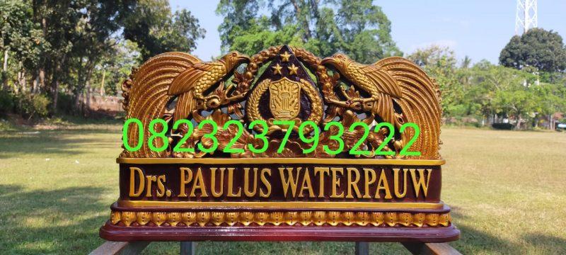 papan nama presiden